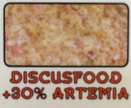 Discusfood+30%Artemia (Frozen Blister Pack)