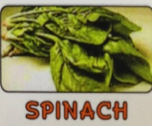 Spinach (Frozen Blister Pack)