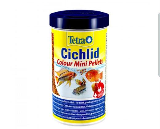 Tetra Cichlid Color Mini Pellets 170g