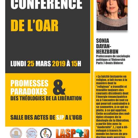 CONFÉRENCE : LES THÉOLOGIES DE LA LIBÉRATION