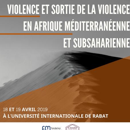 VIOLENCE ET SORTIE DE LA VIOLENCE EN AFRIQUE...