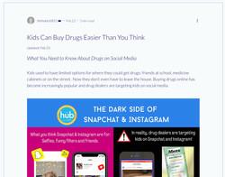 Drugs on Social Media