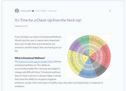 Wellness Month Blog