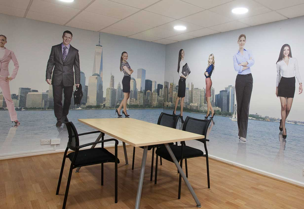 corporate wall coverings