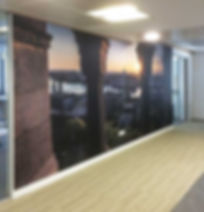 custom wallpaper london