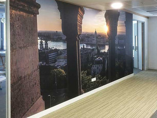 How to make use of your walls in your business?