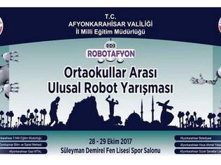ROBOTAFYON Ortaokullar arası ulusal robot yarışması