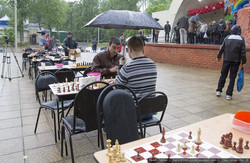 Nothing can stop a real chess player from finishing the game