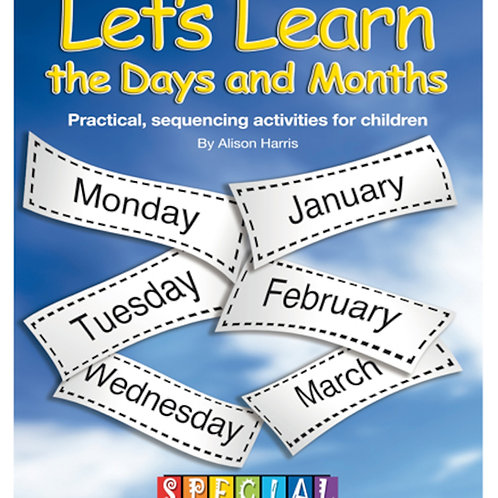 Let's Learn The Days and Months Activity Book
