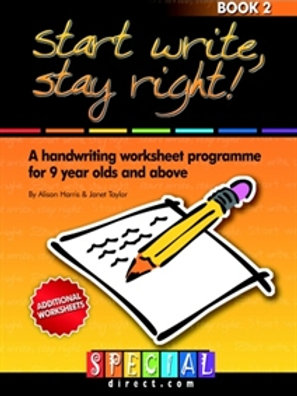 Start Write, Stay Right! Ages 9-12 Book 2