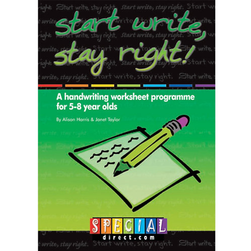 Start Write, Stay Right! Ages 5-8
