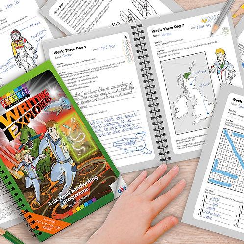 Writing Explorers Handwriting Activity Program