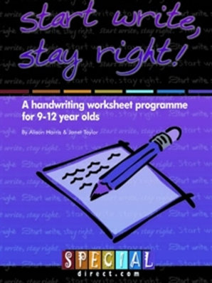 Start Write, Stay Right! Ages 9-12