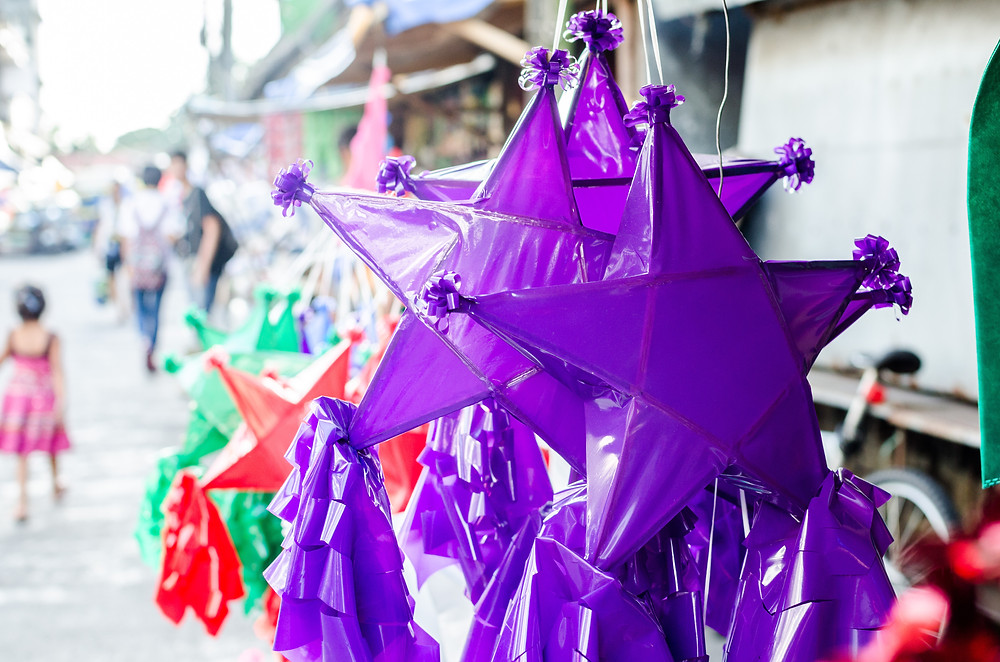 """The parol represent the Star of Bethlehem that guided the 3 magi to the stable where Jesus was born. Furthermore, the word """"Parol"""" is a derivative of the Spanish word """"farol,"""" which means lantern. The letter """"F"""" is not in the Filipino alphabet."""