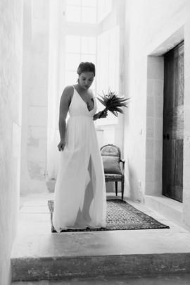 Robe de mariée sur mesure créatrice bordelaise Anne-Laure Neves