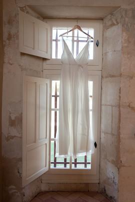 Robe de mariée bohème Anne-Laure Neves