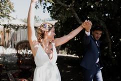 Robe de mariée empire grecque Anne-Laure Neves