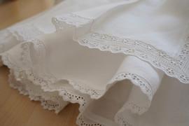 Broderie anglaise robe de bapteme ou cortege Anne-Laure Neves