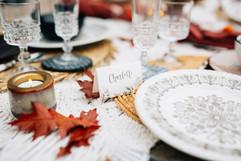 Décoration de table mariage gypsy