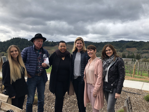 Werner & Ladies of La Cienega Roundtable