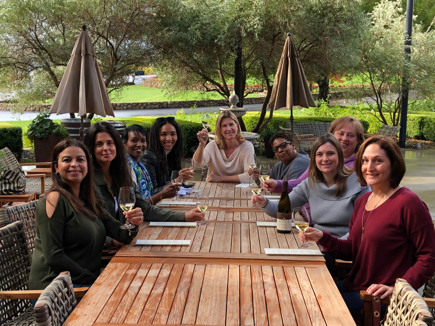 The Brunch Club Visits Sonoma