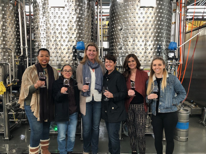 Ladies of La Cienega Roundtable vist UC Davis Teaching & Research Winery