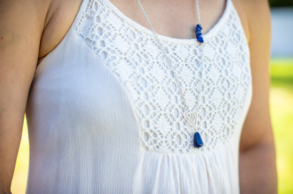 Lapis Light Necklace