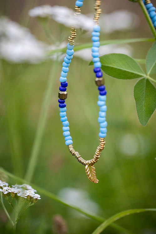 Blue and Bronze Strand
