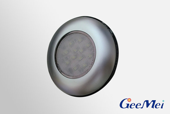 "RV 3"" Qty 12 LED Ceiling Light Round Light w/o switch - Silver"