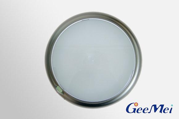 "RV 8"" LED Round Light Dual mode - Silver - Opaque"