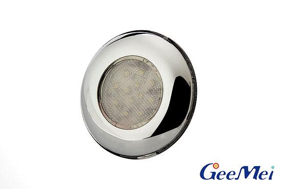 """RV 3"""" Qty 12 LED Ceiling Light Round Light w/o switch - Chrome"""