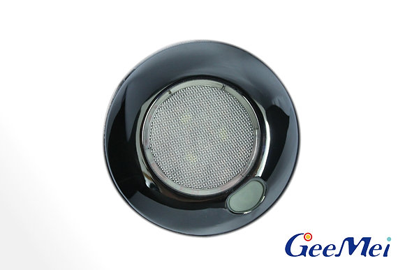 """RV 3"""" Qty 3 LED Ceiling Light Round Light with switch - Chrome"""