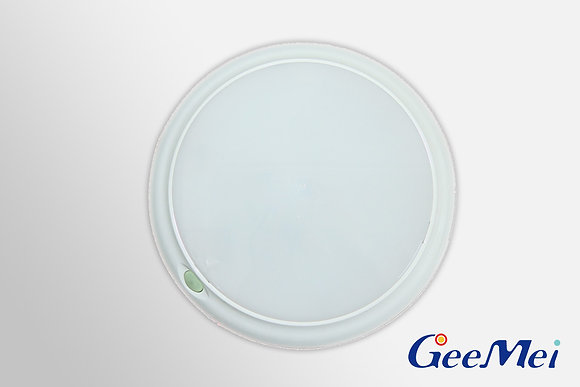 """RV 8"""" LED Round Light Dual mode - White - Opaque"""