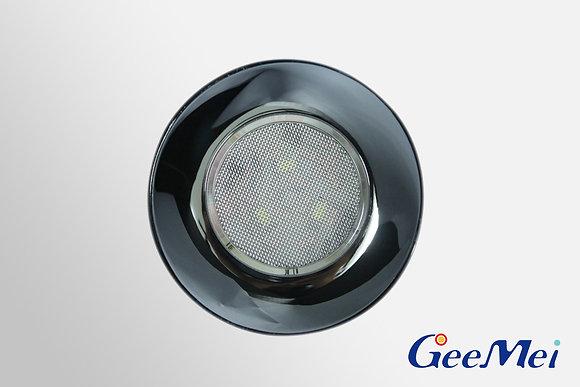 """RV 3"""" Qty 3 LED Ceiling Light Round Light w/o switch - Chrome"""
