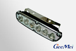 LED Daytime Running Light Spreader Light DRL - Black