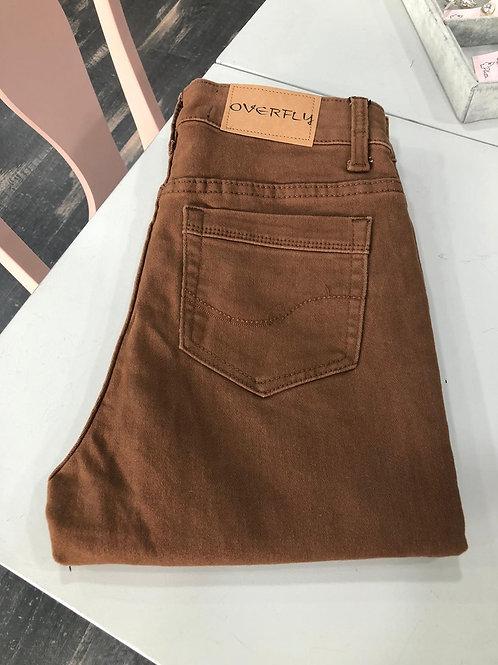 Pantalón  marrón  vaquero