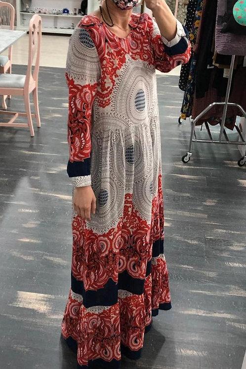 Vestido largo talla L y Xl