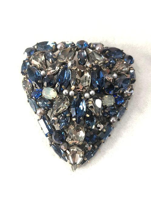 Broche circonitas azul