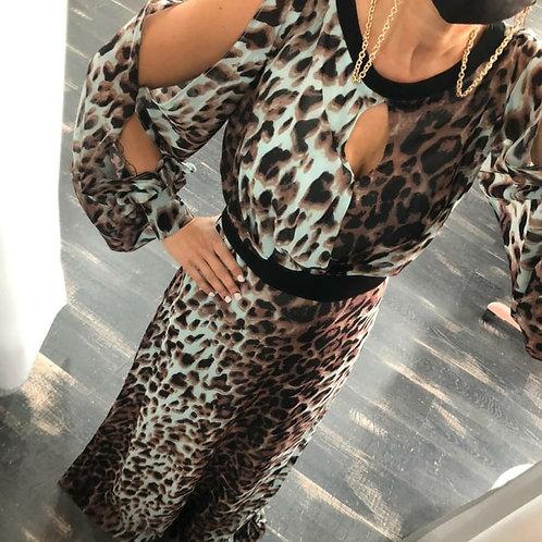 Vestido estampado  print