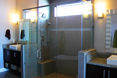 Custom Frameless Door & Panels