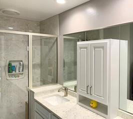 Shower Door and Mirrors