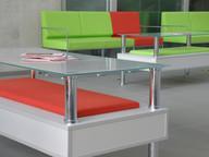 Raised Glass Tabletop