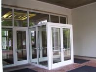 Baxter Hall - Glass Entrance