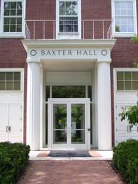 Baxter Hall Entrance