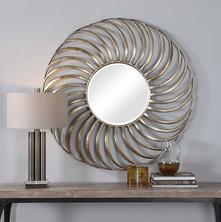 Romie Round Mirror