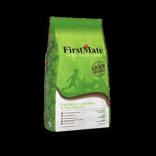FirstMate Dog Free Range Lamb & Oats 25 lb