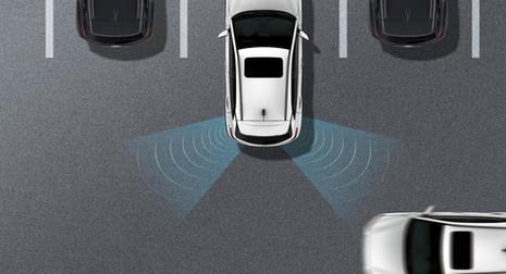 Alerta de colisión de tráfico trasero
