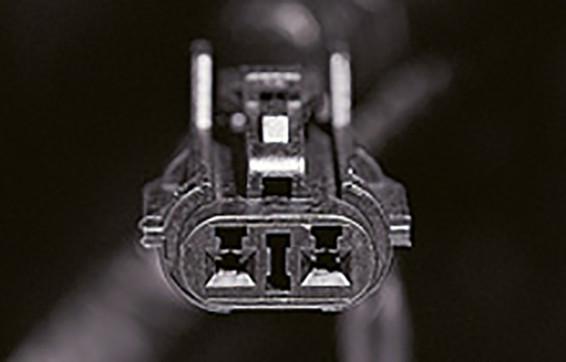 Conector para lámpara de servicio