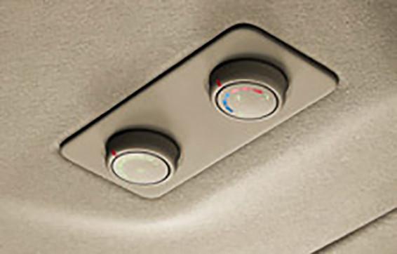Control de aire para pasajeros