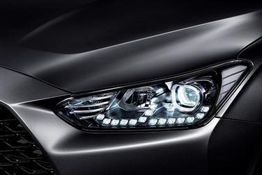 Ópticas delanteras LED